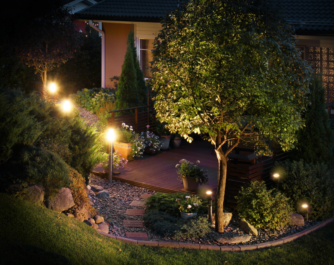Benefits of employing a professional electrician for Landscape Lighting